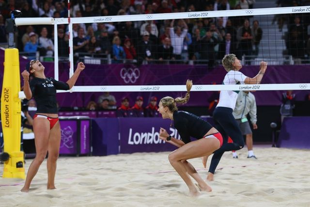 Kerri Walsh and Misty May-Treanor -Olympic US Volleyball