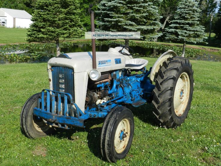 1963 Ford Tractor Model 2000 : Best images about my kinda tractor on pinterest old