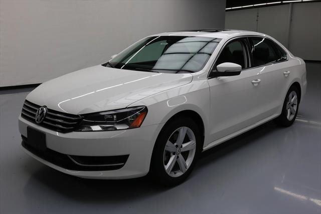 Cool Great 2013 Volkswagen Passat  2013 VOLKSWAGEN PASSAT SE HTD SEATS SUNROOF NAV 25K MI #040534 Texas Direct Auto 2017-18