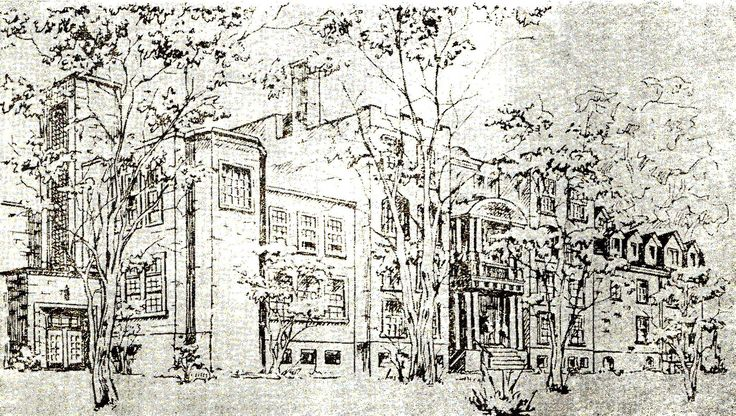 Dessin de bâtiment et de paysage A partir de 399$.  Le dessin artistique d'un endroit préféré pour un souvenir féerique. Photo de départ fournie par le client d'un site Historique de Montréal.