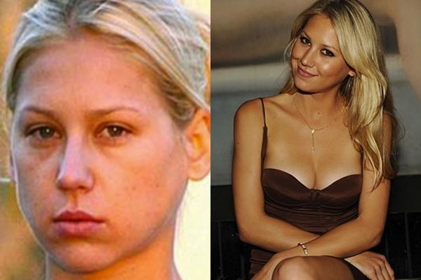 anna kournikova without makeup - celebs without makeup