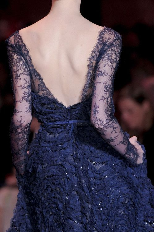 girlannachronism:  Elie Saab fall 2013 couture details