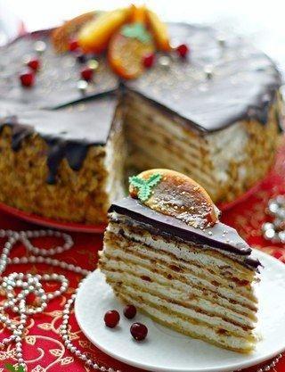 Пряный тыквенно-медовый торт - Кулинарный рецепт - Повар в доме
