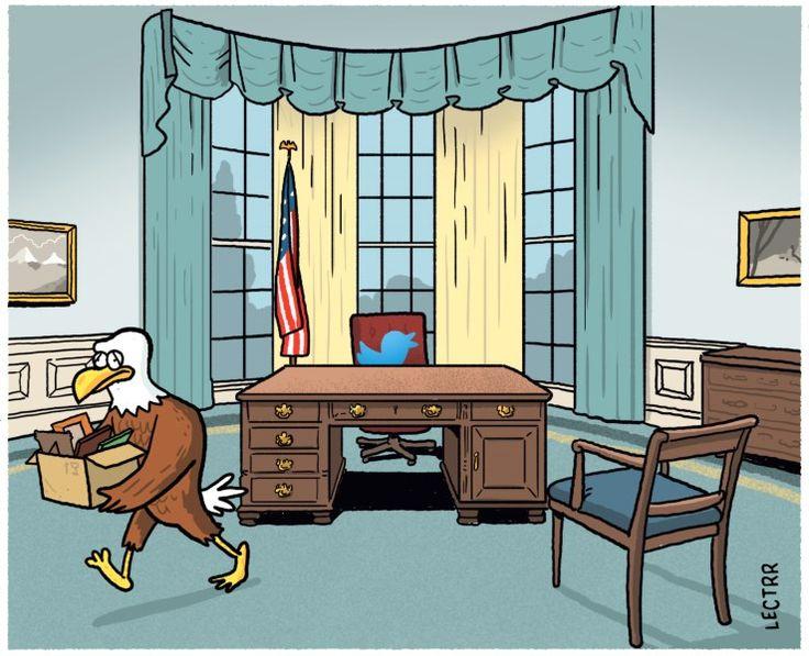 Cartoon van de dag - januari 2017 - De Standaard