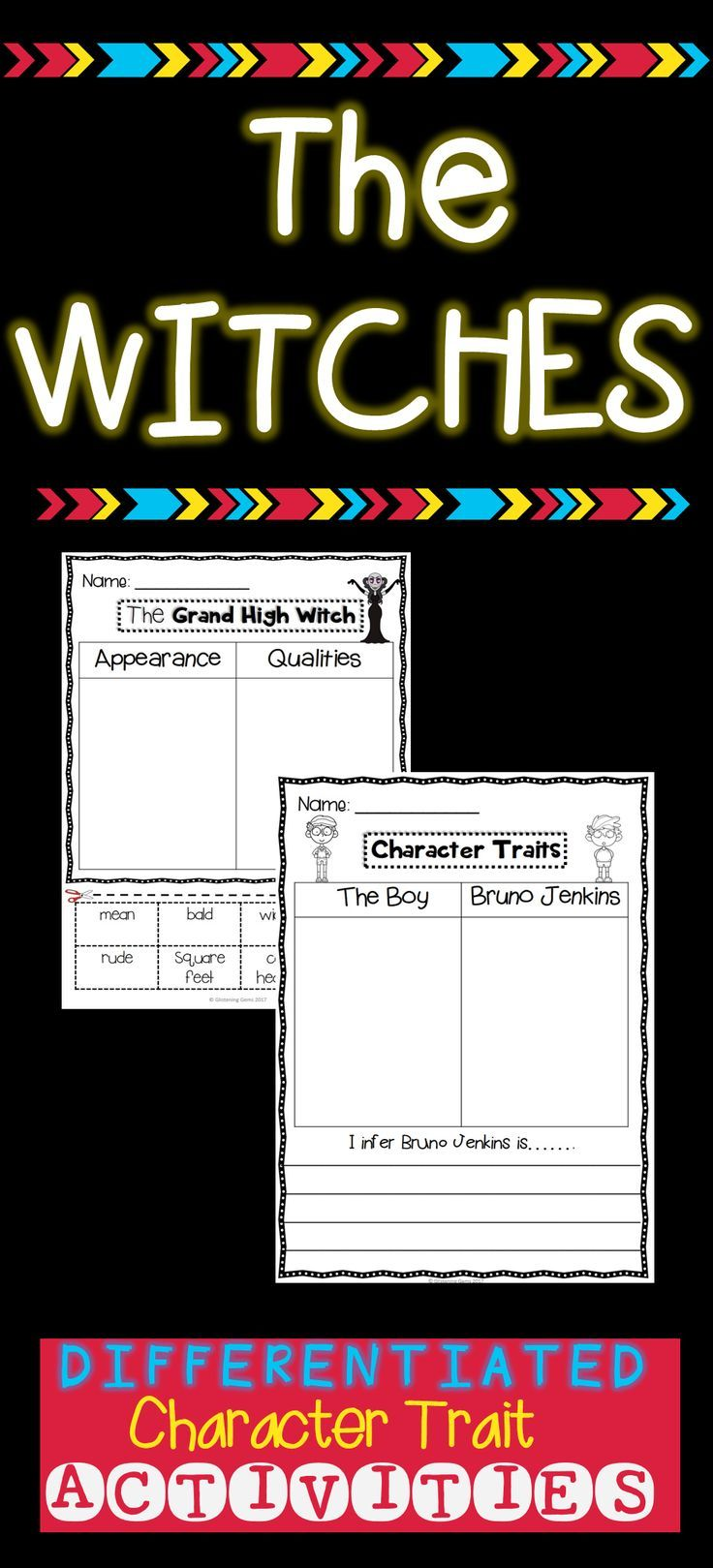 Workbooks the twits worksheets ks2 : 20 best The Witches images on Pinterest | The witches roald dahl ...