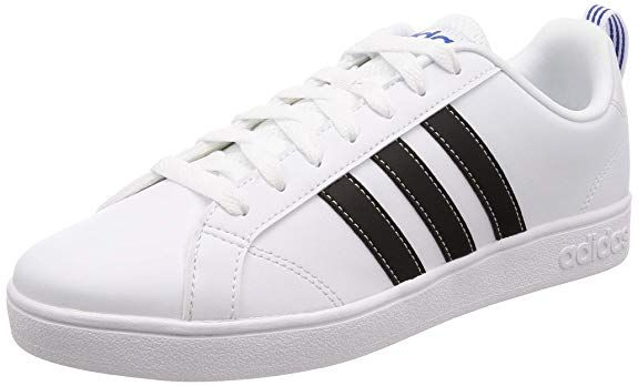 pérdida demostración en  Adidas Men's Vs Advantage Tennis Shoes | Sneakers, White shoes men, Best  white shoes