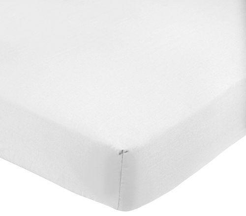 AmazonBasics Drap-housse en polycoton 200fils Blanc 180 x 200 x 30 cm #AmazonBasics #Drap #housse #polycoton #fils #Blanc