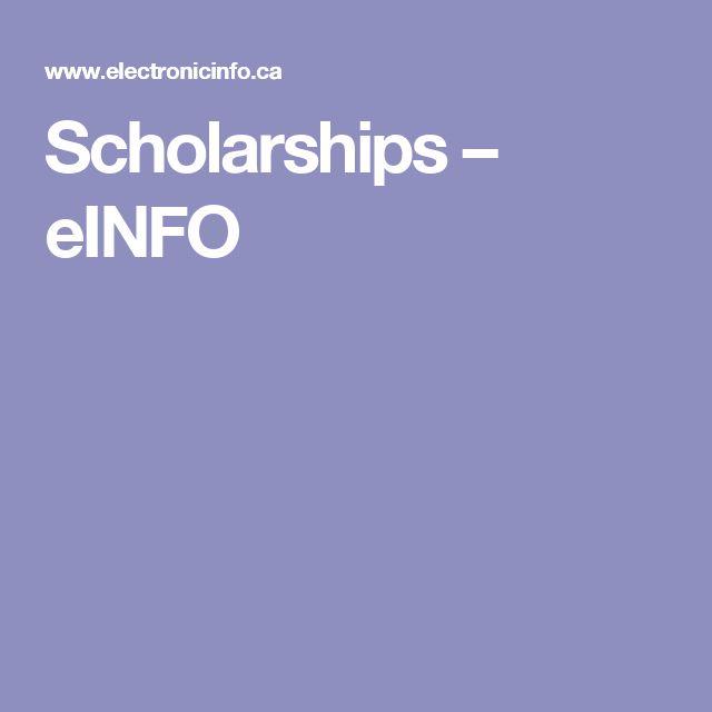 Scholarships – eINFO