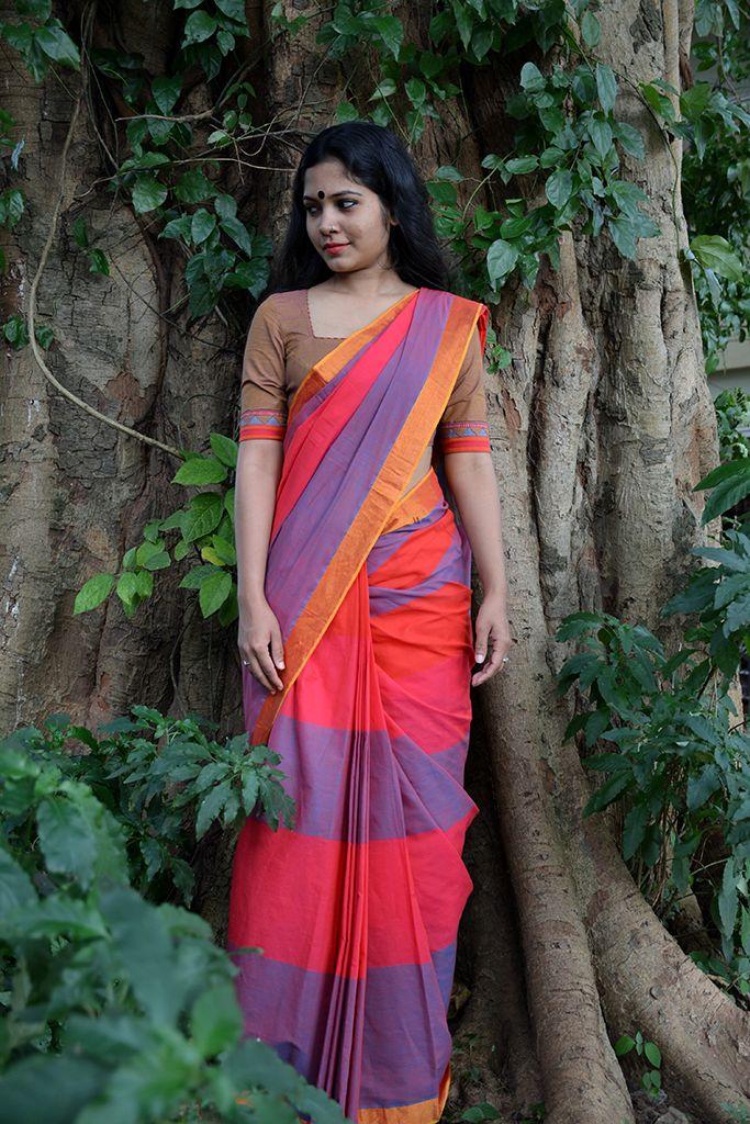 Athappoo Kaithari Handloom Saree from Seamstress.co.in