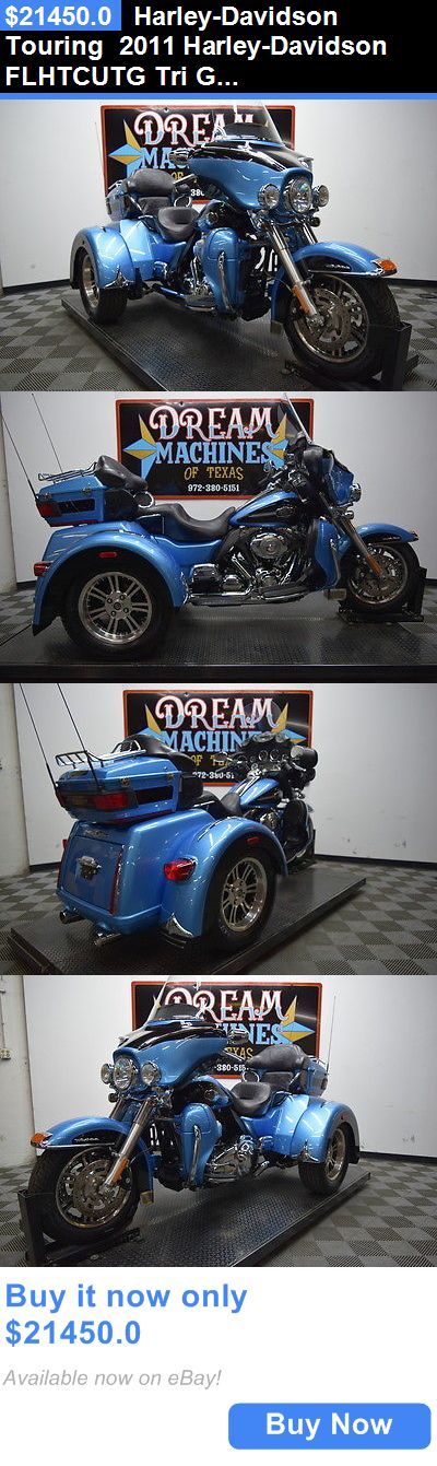 Motorcycles: Harley-Davidson Touring 2011 Harley-Davidson Flhtcutg Tri Glide Ultra Classic Trike $25,025 Book Value* BUY IT NOW ONLY: $21450.0