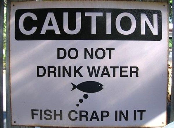Hahaha!: Funny Signs, Funny Stuff, Street Signs, Humor, Lakes Michigan, Fish Crap, Funny Roads Signs, Diet Coke, Drinks Water