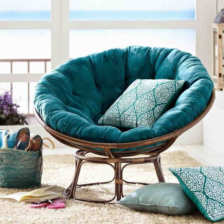 Papasan Loveseat Cushion