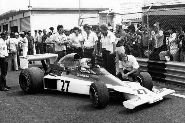 Mario Andretti ParnelliFord VPJ4 Grand Prix of Brazil Interlagos 26 January 1975