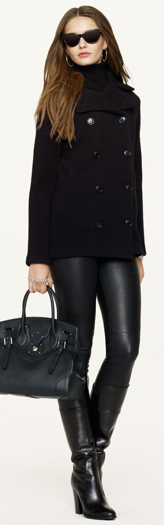 Ralph Lauren Black Label - Wool Pea Coat