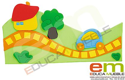 Decoracion de aula - Mobiliario para guarderias y colegios | Educamueble