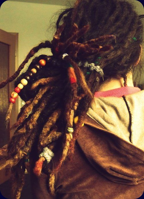 I would kill for hair like this! :: Shop DreadStop.Com for Leather Dreadlock Cuffs, Ties & Dread Beads #dreadstop