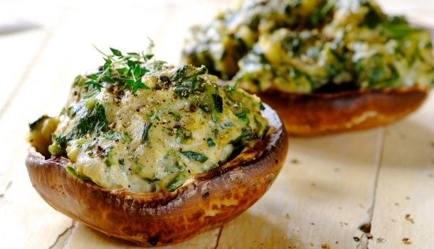 Easy Recipes | Spicy Stuffed Mushrooms | Robertsons | Food ...
