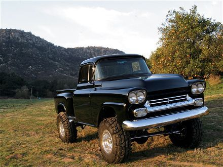 1958 Chevy Truck for Sale | 4X4 | Pinterest | Chevy, Chevy ...