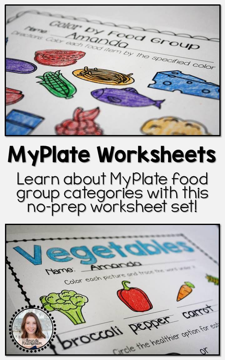 Number Names Worksheets healthy lifestyle worksheets : 93 best Misc. - Amanda's Little Learners images on Pinterest ...