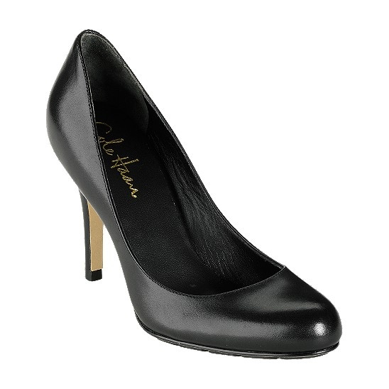 This shoe is a must have for long work days and conferences.  It's THE most comfortable shoe ever.  It's the Cole Haan Talia pump with Nike Air technology.  I also have it in brown.