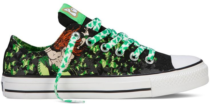 dc comics converse shoes poison ivy movie character