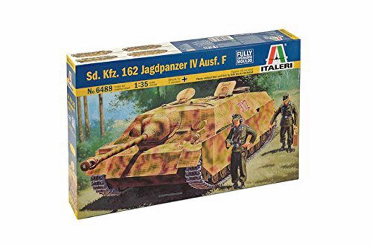 Sd Kfz 162 Jagdpanzer IV Ausf F German WWII Tank Italeri 6488 1/35 Model Kit
