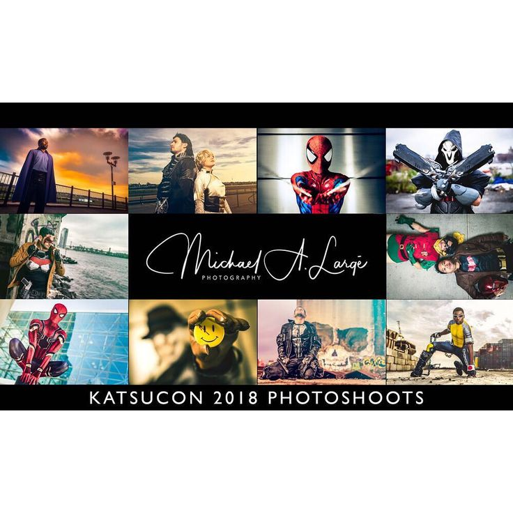 Greetings. I'll be attending #Katsucon 2018 on Friday Saturday and Sunday. I only have a few slots left for the three days combined. Here are the times still available:  Friday - 8pm 10pm Saturday - 12pm 6 or 7pm Sunday - 10am only . My rates are as follows for a single individual: $50 for 5 edited photos (45 - 60 mins) $100 for 10 edited photos (60 - 90 mins) $20 for each additional person if you wish to do a group shoot. . - After the con I email you a link to a private gallery where YOU…