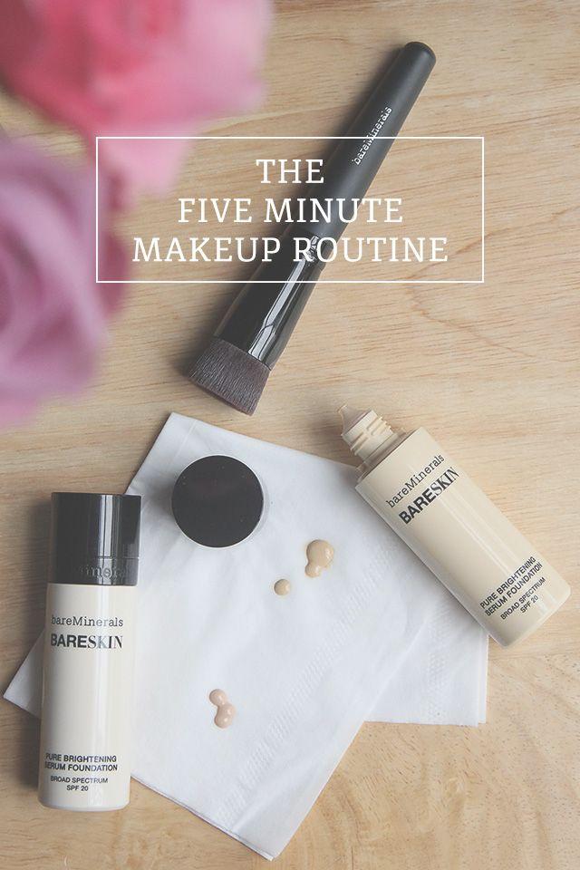 five minute makeup routine #iheartbareskin #gobare @bareMinerals