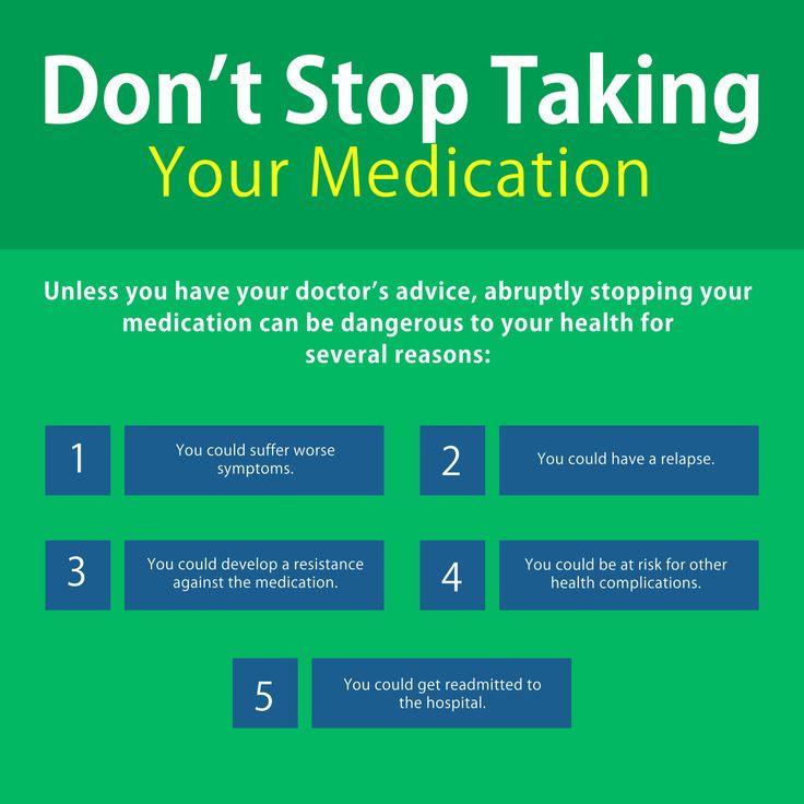 Don't Stop Taking Your Medication LendingAHandHomeCare