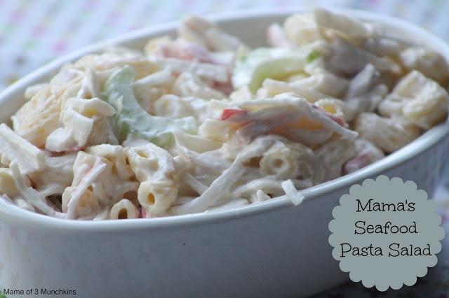 Mama's #Seafood #Pasta #Salad