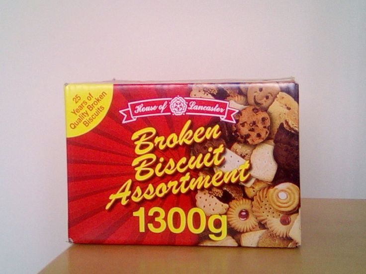 House of Lancaster assorted broken biscuits 1300g (new)