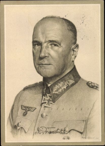 Generalfeldmarschall Walther von Brauchitsch,