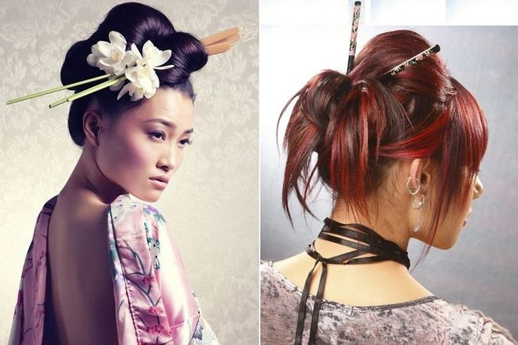 Hair Style Japan: 17 Best Ideas About Chopstick Hair On Pinterest