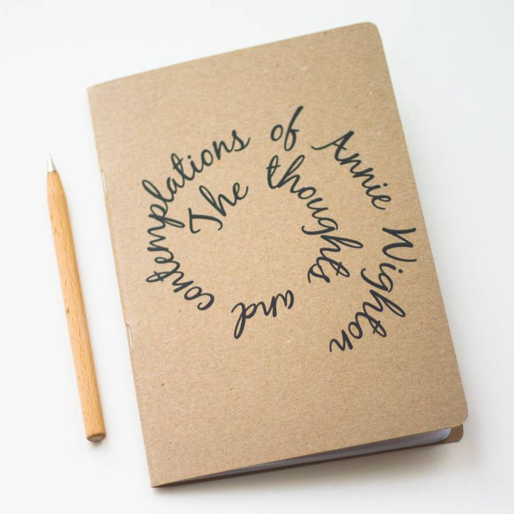 Personalised Notebook – Little Pieces