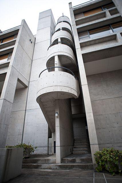 Tadao Ando - Rokko / stairs
