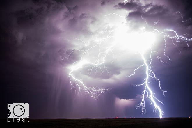 Lethbridge lightning.