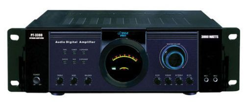 cool Pyle PT3300 3000 Watt Power Amplifier DJ Pro Audio   Check more at http://harmonisproduction.com/pyle-pt3300-3000-watt-power-amplifier-dj-pro-audio/