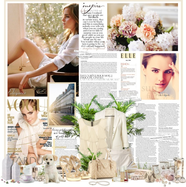 """""""Emma Watson (my template)"""" by bailybitch ❤ liked on Polyvore"""