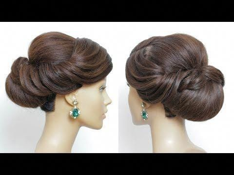 Bridal Prom Updo Tutorial. Bun Hairstyles For Long Hair  YouTube #promhairupdot