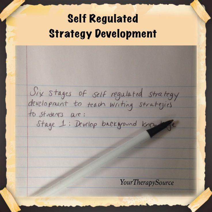 self regulation essay Influencing children's self-efficacy and self-regulation of reading and writing through modeling  self-efficacy beliefs about writing an essay can influence one .