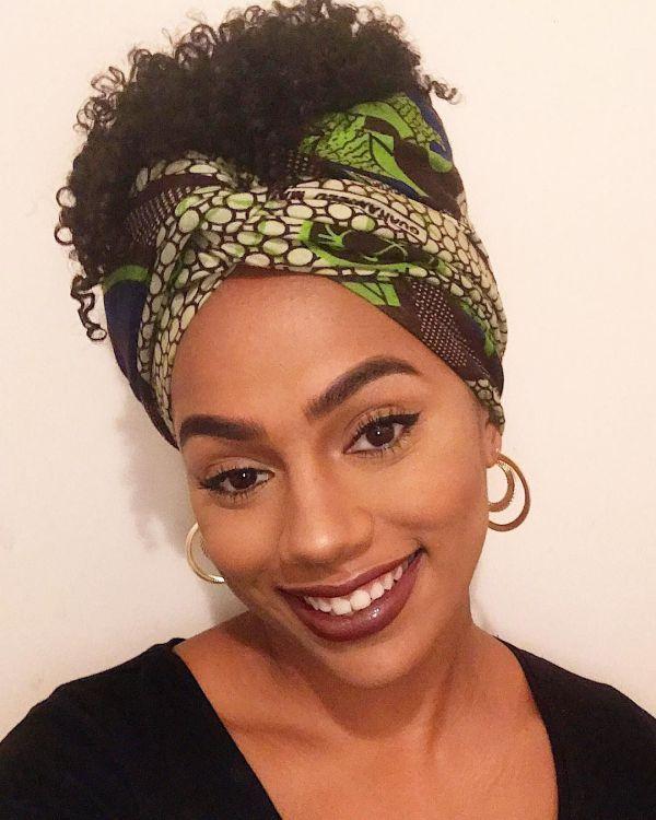30 Ways to Slay in a Headwrap | Hair wrap scarf, Head