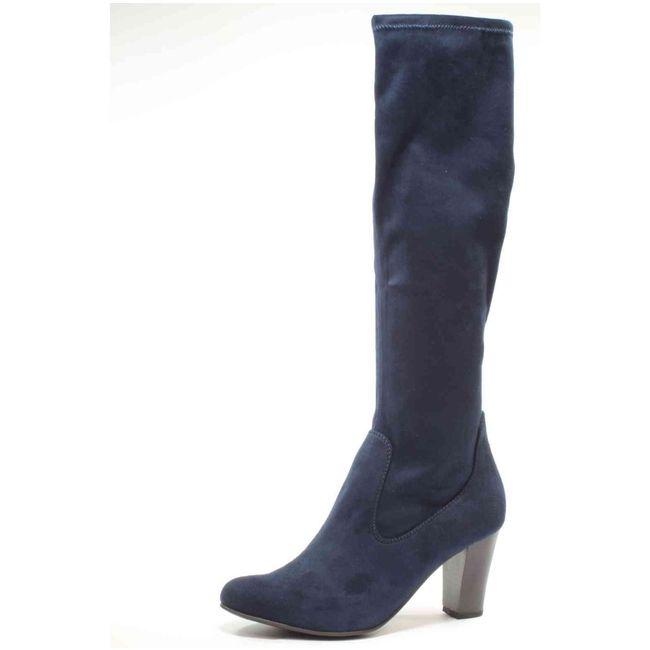 Hole dir deinen Caprice Overknees in blau auf schuhe.de! #schuhede #caprice #overknees