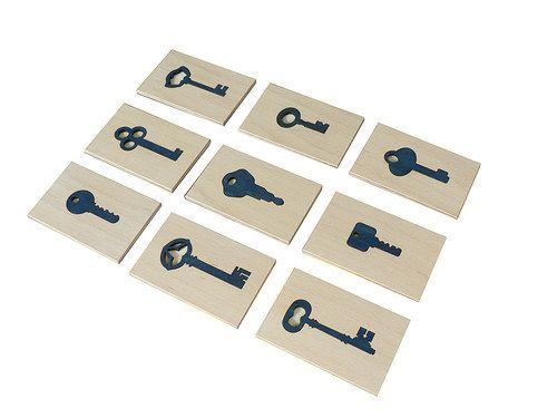 Třídění klíčů