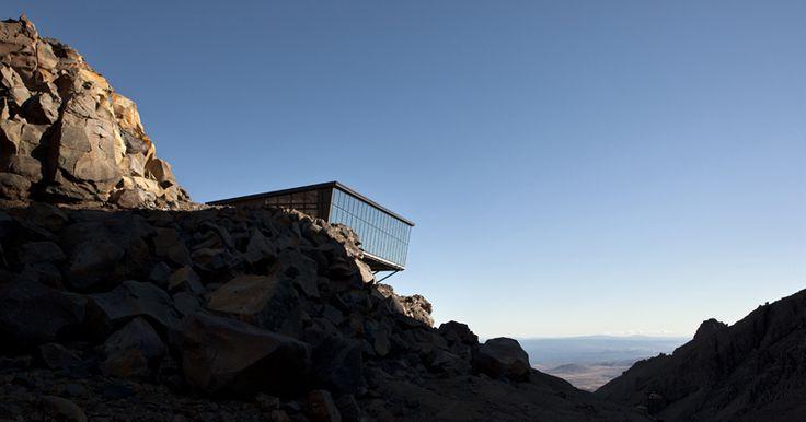 HB Architecture, Knoll Ridge Cafe, Whakapapa, Mt. Ruapehu, New Zealand