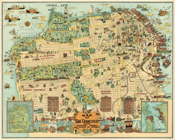 51 best Maps images on Pinterest  Vintage maps Illustrated maps