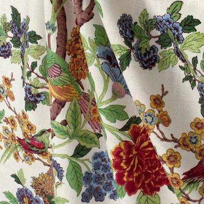 Richloom Whipporwill Summer Fabric