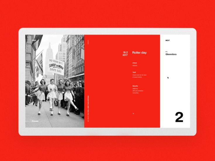M web case pages