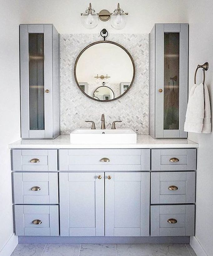 487 best images about powder rooms bathrooms on pinterest - Lemongrass custom home design inc ...