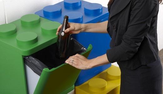 Mejores 15 im genes de reciclaje en pinterest cubo de for Papelera reciclaje ikea