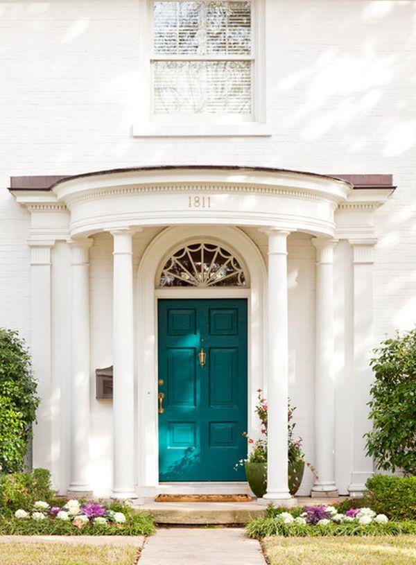 23 Best Images About Front Door Aqua Paint Colors On